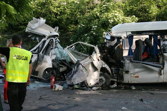 Tragiczny wypadek w Stawku, Fot. KWP w Lublinie