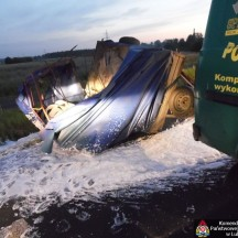 2014.07.14. Wypadek Kleberga - Obwodnica Lubartowa 1
