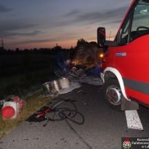 2014.07.14. Wypadek Kleberga - Obwodnica Lubartowa 5