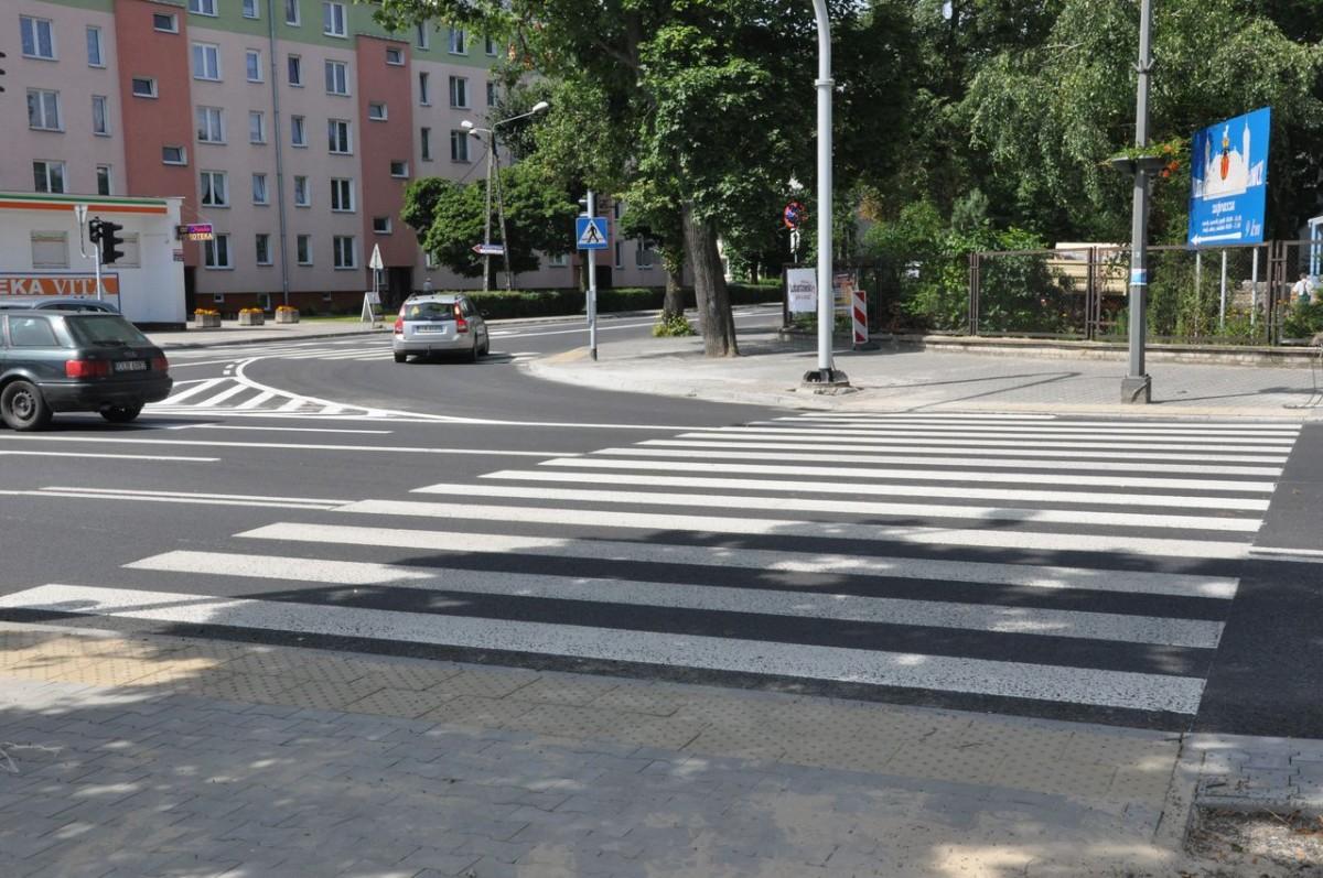 Przeniesione przejście dla pieszych na ul. Słowackiego