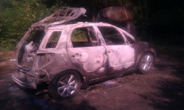 Tarło spalone auto
