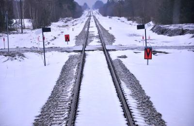 Na razie po jednym torze przemieszczają się szynobusy do Lublina. Za kilkanaście miesięcy przez stację Lubartów przejedzie nieco więcej pociągów (fot. PL)
