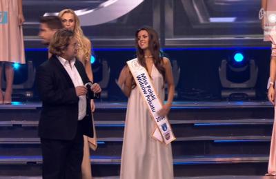 Weronika Marzęda - Miss Polski Widzów Polsatu (kadr z TV Polsat)