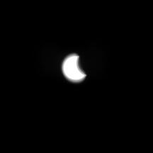 Zaćmienie słońca 2015 Lubartów  -6