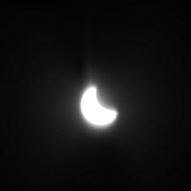 Zaćmienie słońca 2015 Lubartów  -8