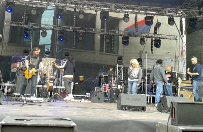 Próba przed wieczornym koncertem Urszuli (fot. PL)