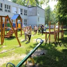 Otwarcie placu zabaw w Samoklęskach