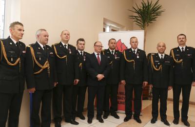 Radosław Czarnecki odznaczony Krzyżem Fot. UW Lublin