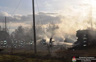 Pożar w Kocku