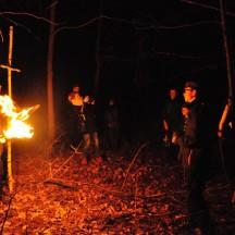 Droga Krzyżowa w lesie-11