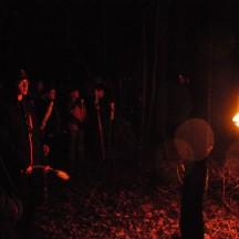 Droga Krzyżowa w lesie-17