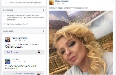 Fot. screen: https://www.facebook.com/Magda-Gessler-112484985469400/