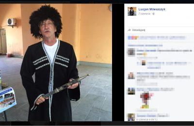 Lucjan Mileszczyk został kierownikiem KRUS w Lubartowie. Fot. screen/facebook.com/Lucjan Mileszczyk
