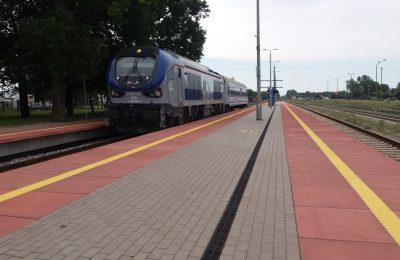 pociąg przed 4